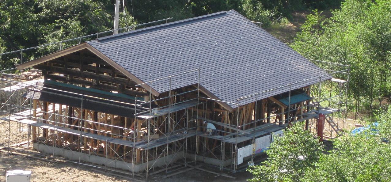 古民家移築プロジェクトの写真1